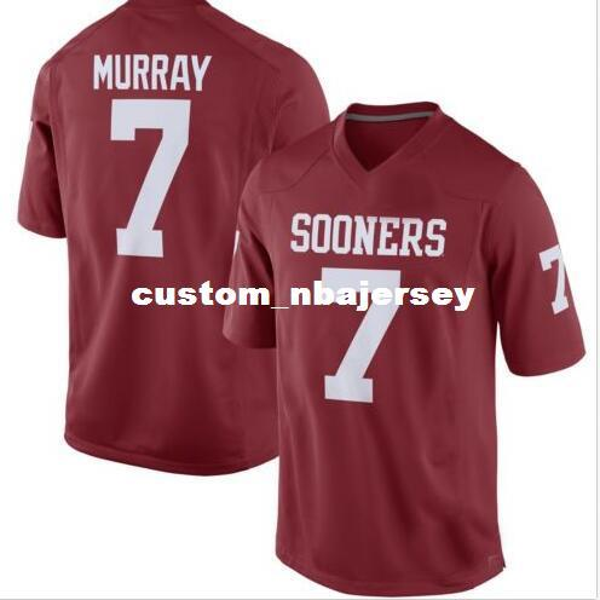 Cheap wholesale DeMarco Murray Oklahoma Sooners Alumni Football Jersey Crimson custom any number name football jersey MEN WOMEN YOUTH XS-5XL