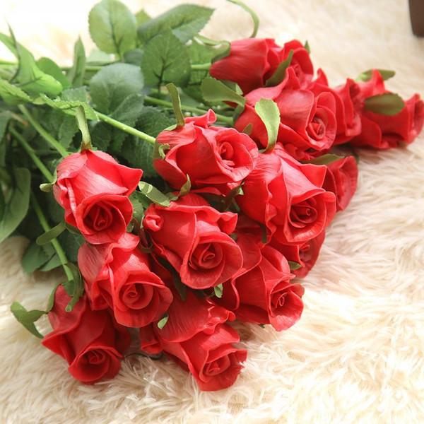 Creative send his girlfriend soap flower gift box plus bear love lamp soap flower Valentine's Day birthday gift Teacher 's Day wedding Decor