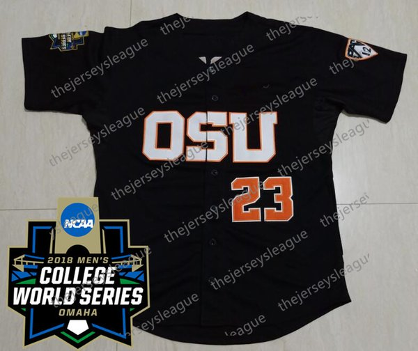 Black with 2018 CWS Patch