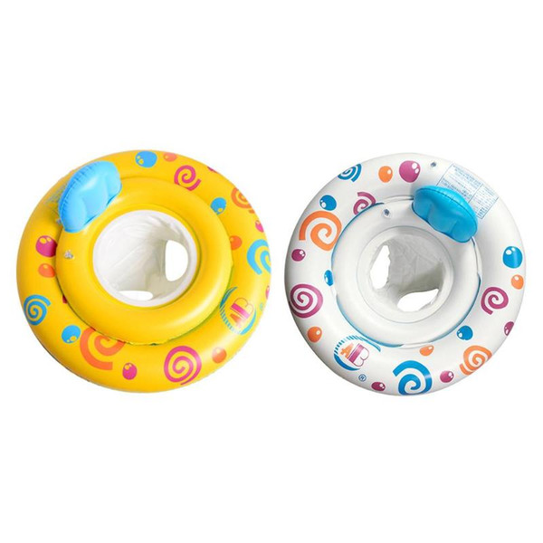 best selling PVC Inflatable Baby Swimming Ring Swim Trainer Safety Neck Float Pool Water Fun Toy Double-layered Fixation 5-airbag Designs