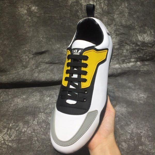 2019 antideslizantes zapatos ocasionales portátiles 210502 Hombres Zapatos de vestir Mocasines Mocasines Lace Ups Monk Correas Botas Controladores Zapatillas de deporte de cuero real Zapatos