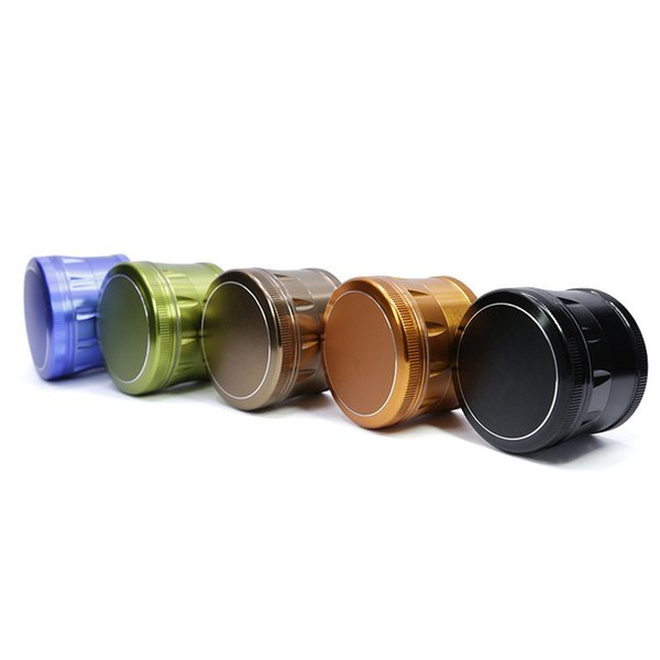 Herb Grinder 63MM Diameter Aluminum Alloy Metal Multi Colors Chamfer Tooth  Grinder 4 Layers Meteor Winding Machine Transformer Winding Machines From