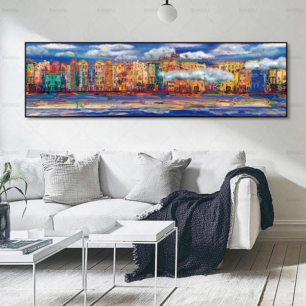 pintura da lona de imagem parede de imagem cenário cartaz arte da parede lona posters e impressões pintura a óleo arte sem moldura