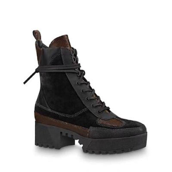 World Tour Desert Boot designer women boots Platform Boot Spaceship Ankle Boots,Heel flamingos medal martin boots heavy duty soles w01 Size