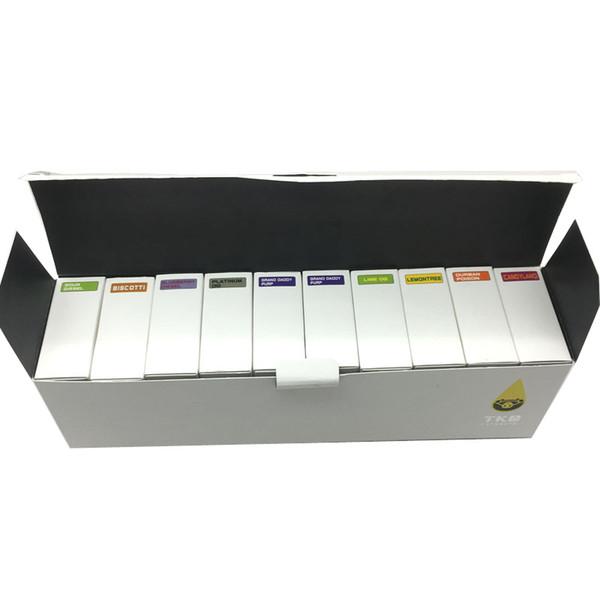 TKO Extracts cartridge Legendtank pacchetto confezione personalizza pacchetto OEM vape pen package 0.5mL 1ml 92A3 1003 atomizzatore kingpen Pacchetti di cartucce