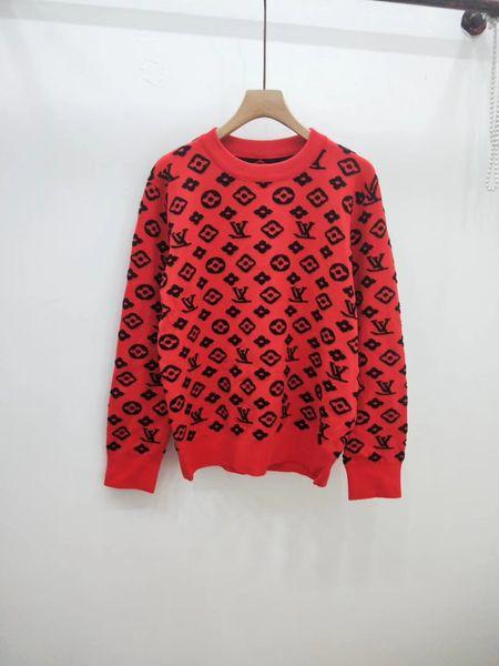 Milan Runway Sweater 2019 New O Neck Long Sleeve Print Women's Sweaters High End Pullover Women Designer Sweater 092024