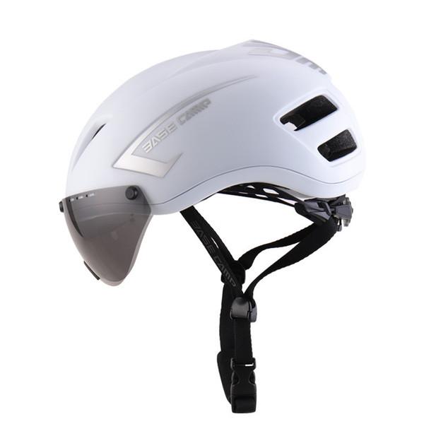 Beska Magnetic Cycling Helmet Matte Pneumatic Mens Casco da bicicletta Professionale Mountain Racing Bike IN-MOLD Safely Cap
