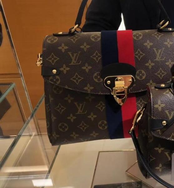 GEORGES MM M43778 handbag N63080 LONG CHAIN WALLETS KEY CARD HOLDERS PURSE CLUTCHES EVENING