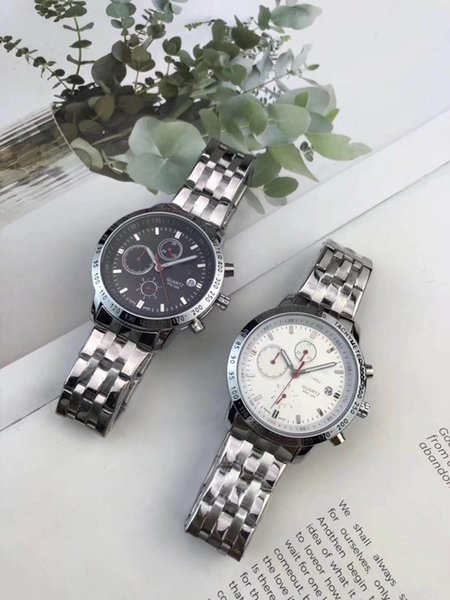 best selling New Arrival Mens womens gold quartz datejust tag silver watches Wristwatches top quality wristwatch chronograph skeleton watch