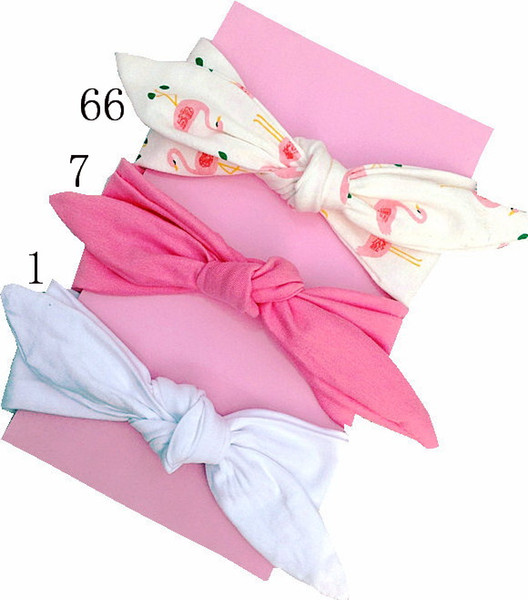 best selling Girl baby headwear cotton Turban Twist Hair band Head wrap Twisted Knot Soft stripe Headband Polka dot Headwrap accessories 20PCS FD6554