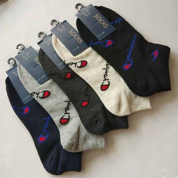 Men And Women Home Boat Socks Champion Shallow Mouth Ankle Sock Multi Colors Spring And Summer 1 4hy