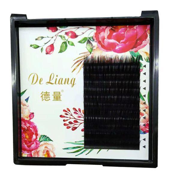 Grafting false eyelashes Single round hair eyelashes Stingray hair soft comfortable natural dense suitable for beauty salon using factory di