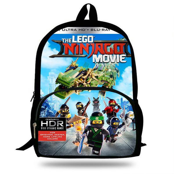 16inch 2018 Newest Bag Children Schoolbags Cartoon Movie Printed Shoulder Bags Custom Backpacks For Kids Students