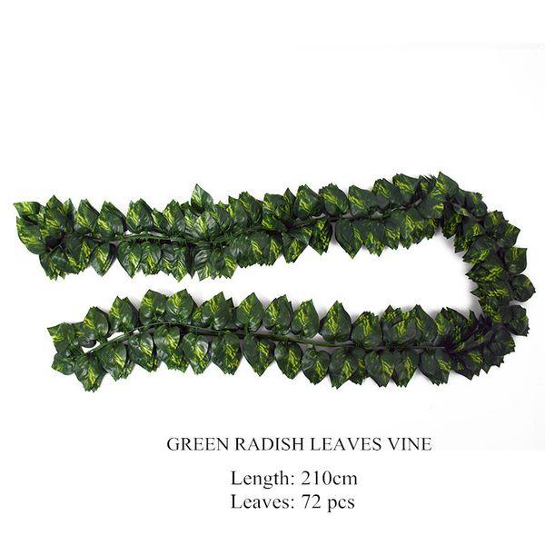 Verde Ravanello 210 centimetri