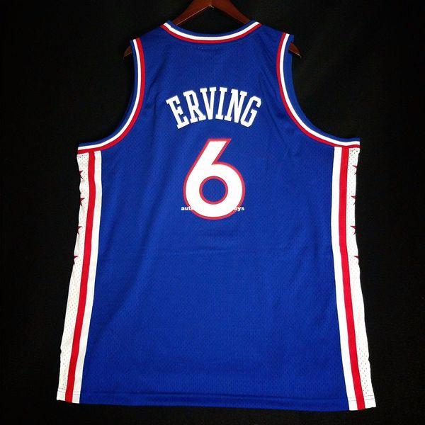 100% Costurado Julius Erving Dr J Soul colete atacado Jersey 52 Mens Vest tamanho XS-6XL Costurado basquete Jerseys Ncaa