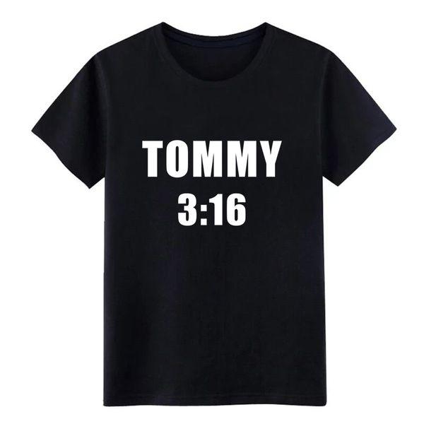 Erkek 3:16 T-shirt t-shirt Baskı pamuk Euro Boyutu S-3xl serin Fit Rahat yaz Yenilik gömlek