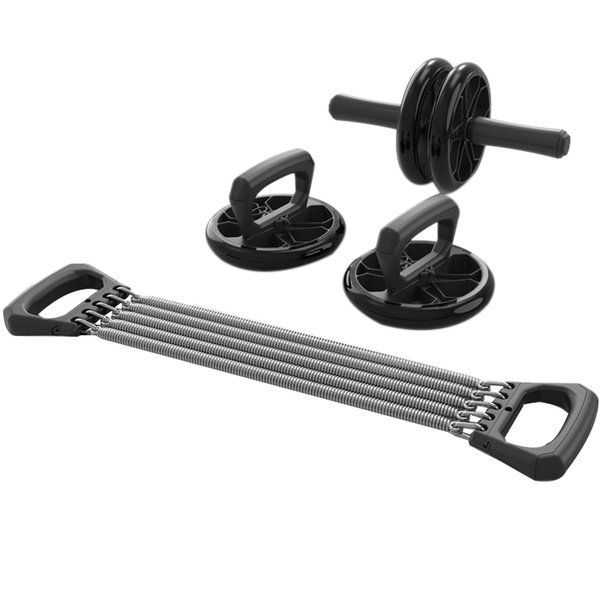 best selling Abdominal Exercise Wheel Double Roller Abdominal Exercise Wheel Push-Up Support Rally Multi-Function Device