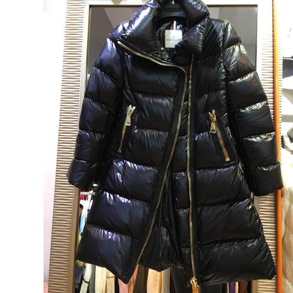 Großhandel Neue Marke Damen Lange Winter Warmen Mantel Frauen Luxus Entendaunen Und Parkas Designer Jacke Frauen Mit Kapuze Parka Weiblichen Mantel