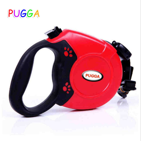New 5M 8M Retractable Dog Leash Automatic Extending Pet Walking Leads For Medium Large Dogs Bags Garbage Clean Dispenser