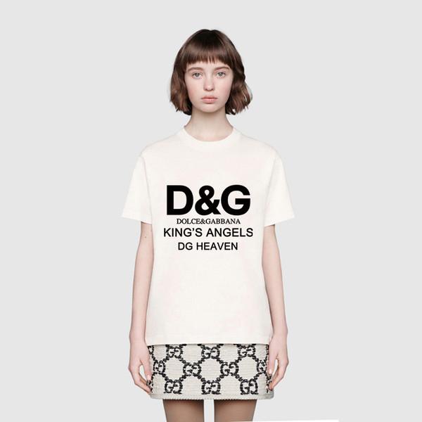 2019 0Dolce Gabbana shirts men women 100% cotton cool tshirt summer jersey costume t-shirt Tops