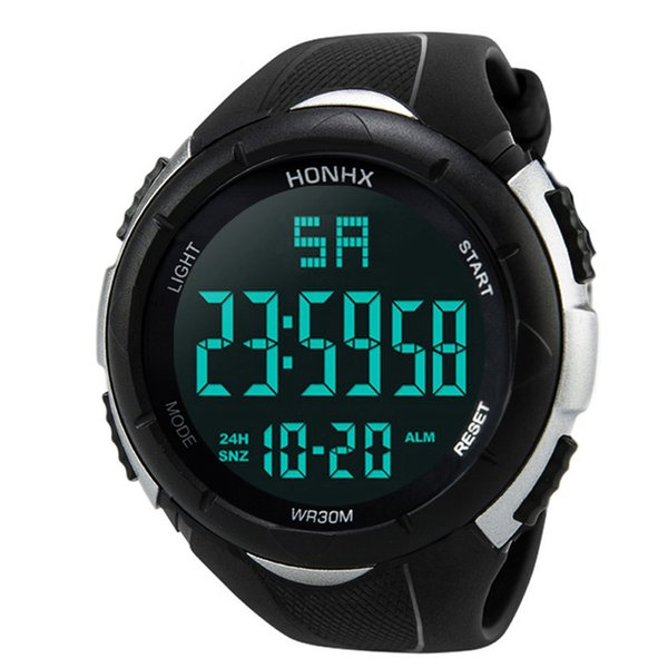 (Free for RU/ES) Drop shipping Men Watches Good Analog Digital Army Sport LED Waterproof Watch Relogio Masculino #YL5