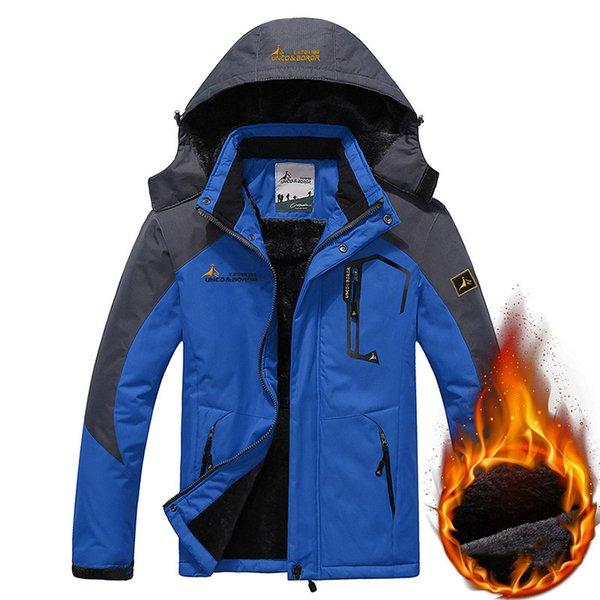 Men Blue Jacket