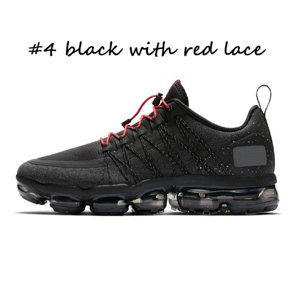#4 black with red lace