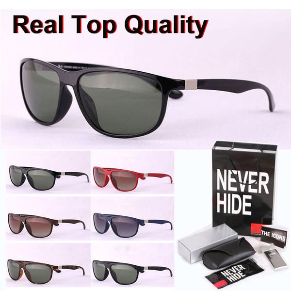 Top-Qualität (polarisierte Objektiv) 4213 Marken-Sonnenbrille Männer Frauen Sport Vintage-Sonnenbrille mit ursprünglichem Kasten, Pakete, Zubehör, alles!