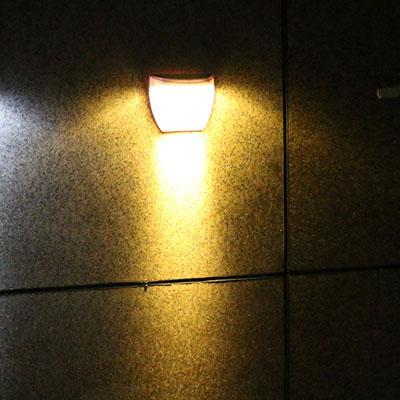 La luz blanca cálida
