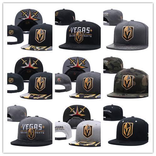 Toptan snapbacks LAS VEGAS GOLDEN KNIGHTS Penguenler LA krallar Blackhawks Bruins Hokeyi kapaklar moda Şapkalar