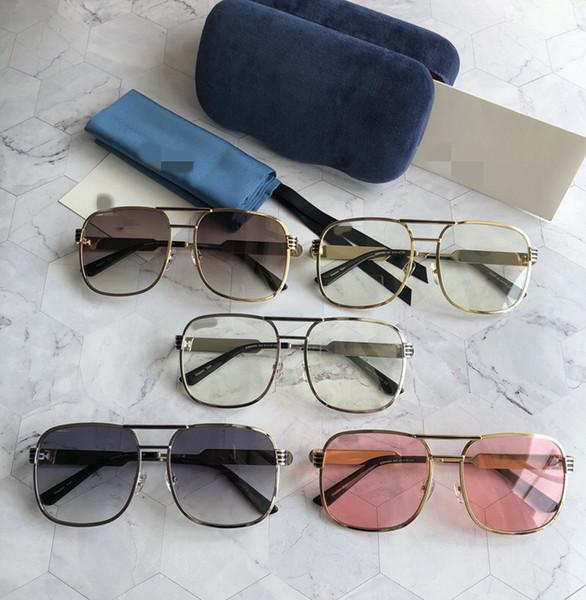 Occhiali da sole da uomo Occhiali da sole con montatura grande da donna Occhiali da sole oversize Occhiali da vista da donna con montatura per occhiali da vista con scatola originale