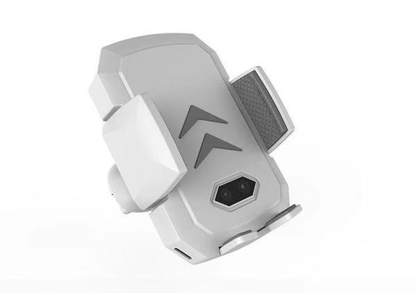 Caricabatterie wireless automatico per auto a infrarossi 10W caricabatterie veloce per Iphone X, XS, XR, Iphone 8, PLUS, Samsung, LG, Nokia Lumia, Yota,