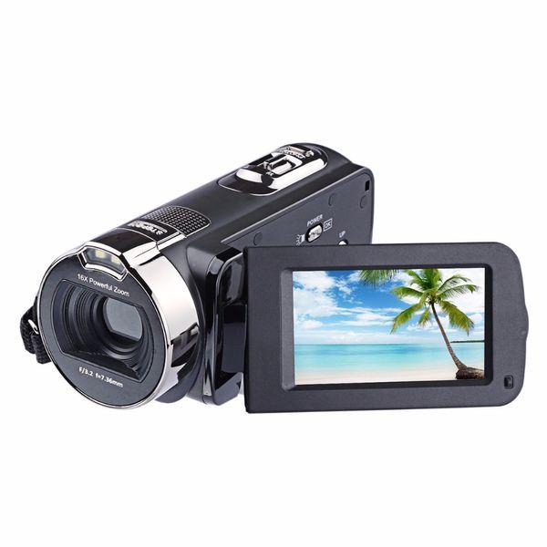 JRGK HDV 312P 2.7 '' inch 24.0MP Appareil photo numérique 1080p 16x Zoom DV caméra vidéo Rotate Screen fotografica filmadora