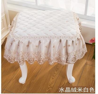 Miraculous Classical Lace Square Stool Cover Floral Piano Chair Cover Makeup Stool For Seat Cushion Chair And Couch Covers Couch Slips From Industrial 27 95 Uwap Interior Chair Design Uwaporg