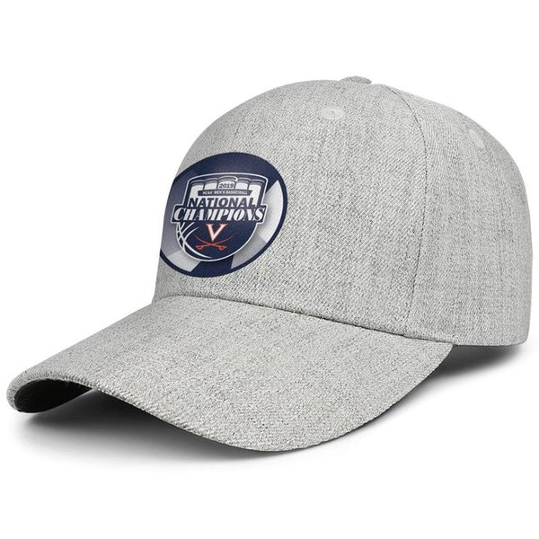Virginia Cavaliers 2019 NCAA Men's Basketball National Champions Men Women Wool Visor caps Fashion designer hat snapback Adjustable Sun hat