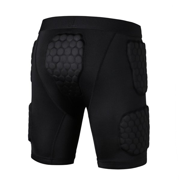 best selling Men Youth Basketball Sponge Sports Safety sports shorts honeycomb shorts anti-collision protective tights EVA armor Leg protector