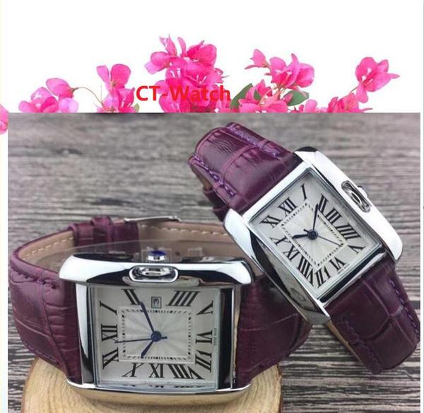 Heiße Verkäufe Unisex Genf Leder PU-Quarz-Uhren Männer Frauen Art und Weise beiläufige Roma-Männer Uhr-beiläufige Kleid Roségold Armbanduhren