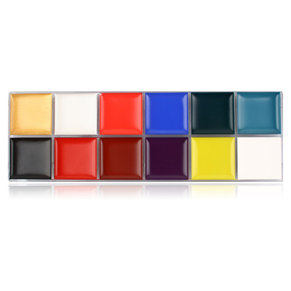 NEW Oil Painting Pigment 12 Colors Face Body Paint Art Make Up for Halloween Party