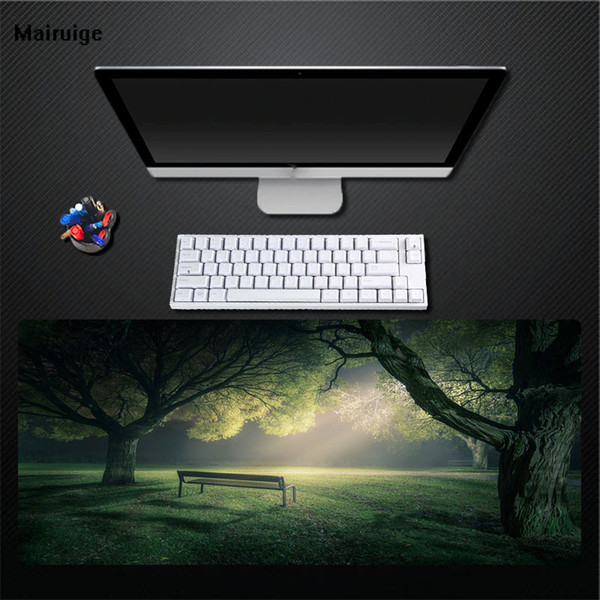 Presentes superdimensionados acolchoado jogo mouse pad jogo almofada de velocidade universal computador notebook teclado pad