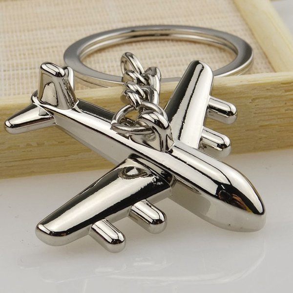 OTOKY 2018 Hot Sale 1PC Aircraft Model Keychain Outdoor Key Ring Pendant Keyring For Gift Dropshipping Apr12