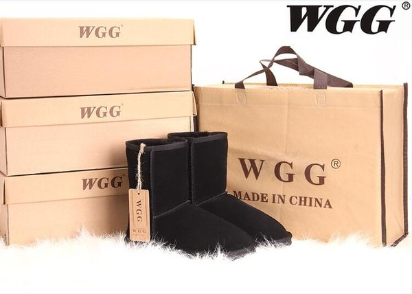 Factory HOT 2017 Classic WGG Brand Women popular Australia Genuine Leather Boots Fashion Women's Snow Boots US5--US10