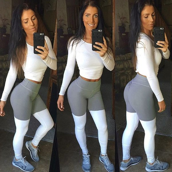59706be7113 2019 Klv Yoga Pants Of Women Sport Pants Fashion Workout Yoga Leggings For  Fitness Gym Running Athletic Sportswear Woman Gym #281040 From Gymshoes666,  ...