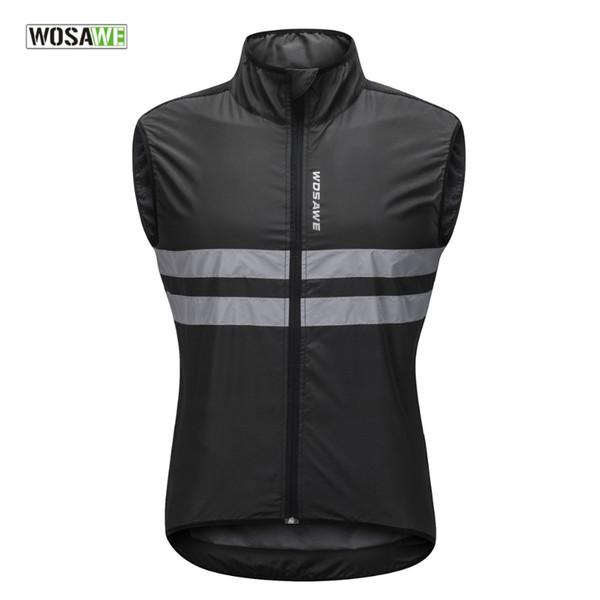 Марка Велоспорт Vest ветрозащитный Отражающие Спорта на открытом воздухе Ветер Coat Дорога / Offroad велосипед Джерси