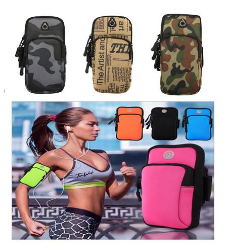 Sports Armband Case Cover Running Jogging Arm Band Pouch Holder Bag 4-6 inch Universal Waterproof Mobile Phone Holder Outdoor for all phone