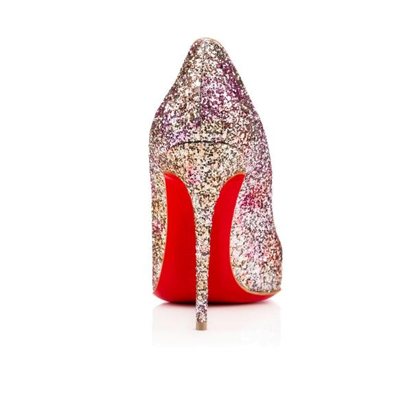 Moda klasik yüksek topuk bayan ayakkabıları düğün ayakkabı gelin ayakkabıları sandalet L18