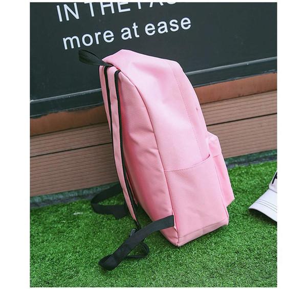 Nova bolsa de ombro selvagem lazer simples alunos da lona saco de vento escola Moda Mulheres de Negócios Mochila Laptop # G4