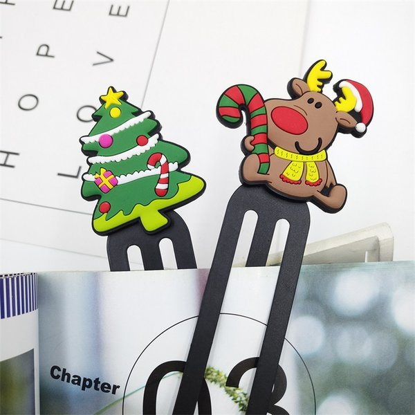 best selling Custom PVC Soft Rubber Bookmarks Creative Student Stationery Cartoon Anime Bookmarks Plastic Bookmarks Custom Promotional Gifts