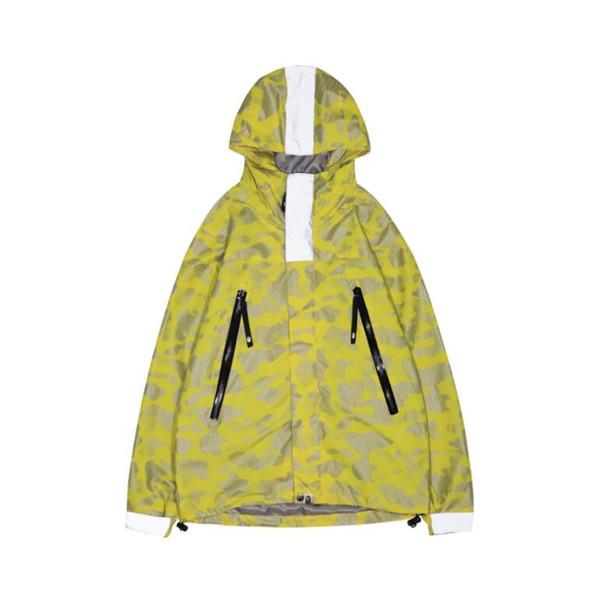 mens luxury designer ape jackets Long Sleeve windbreaker windrunner Men Zipper Waterproof Jacket hip hop clothes
