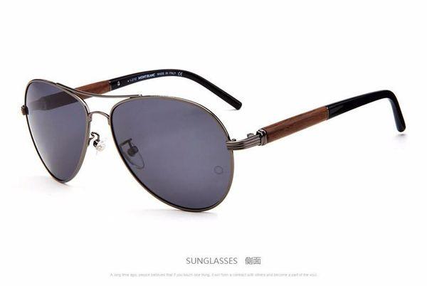 Rana espejo cara redonda personalidad gafas de conducción gafas de sol polarizadas conducción piloto gafas de sol MB409 restaurando formas antiguas 1
