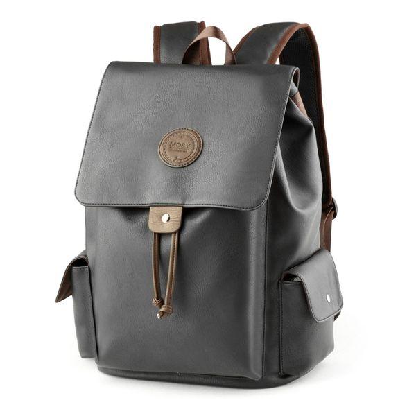 Marka Sırt Çantası Kadın Erkek Çanta Tasarımcısı Çift Omuz Çantası Moda PU Deri Okul Çantaları bilgisayar çantaları